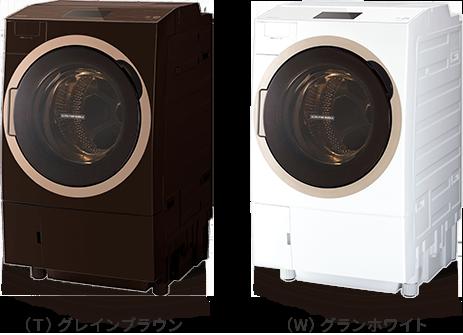 TW-127X7L/R|洗濯機・洗濯乾燥機|ZABOON-東芝ライフスタイル