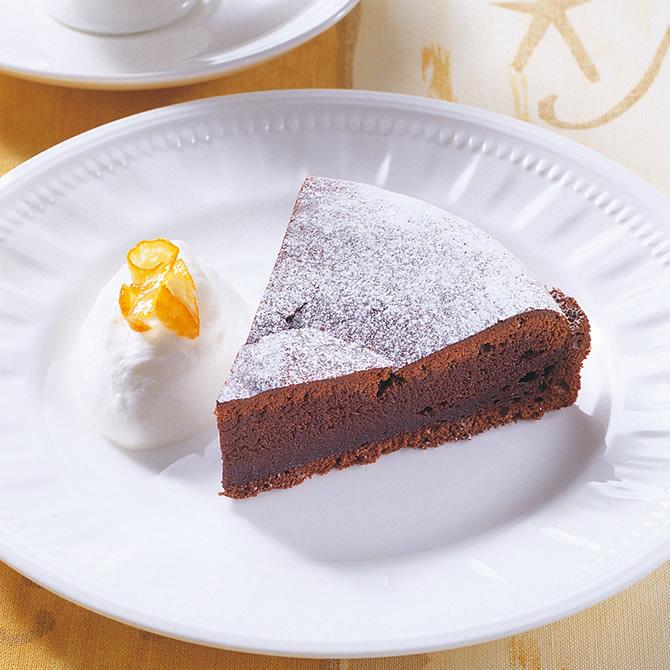 レンジ で ガトー ショコラ
