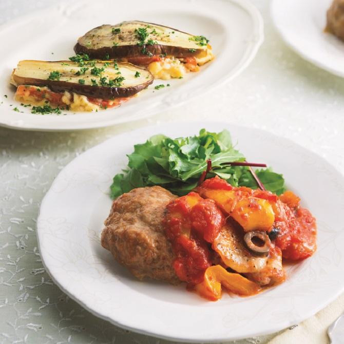 チキン トマト ソース 煮