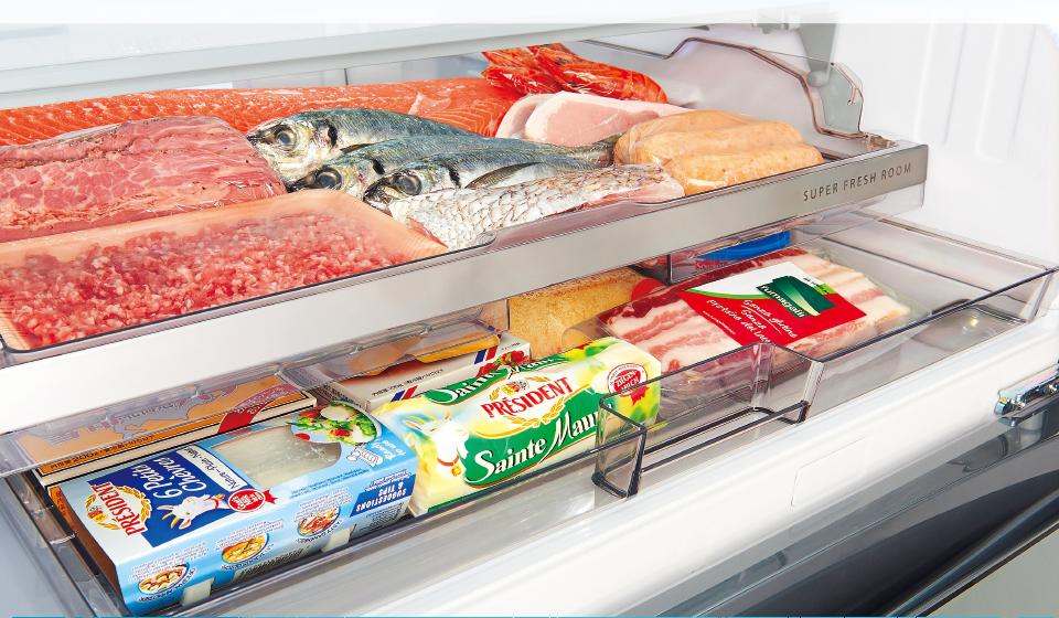 肉・魚を凍らせず、生のままおいしく長持ち保存。
